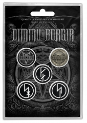 Dimmu Borgir Button Set Eonian