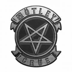 Anstecker Motley Crue Pentagram