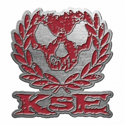 Pin Killswitch Engage Skull Wreath