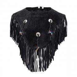 Poncho aus Leder für Frauen