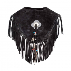 Black Indian Vest for Women