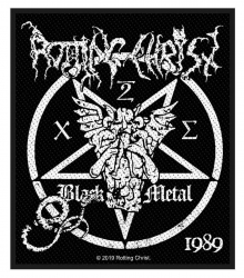 Rotting Christ Black Metal Woven Patch
