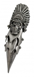 Full Finger Claw Ring Indians´s Skull