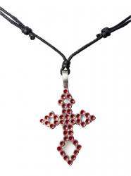 Kette mit rotem Kreuz