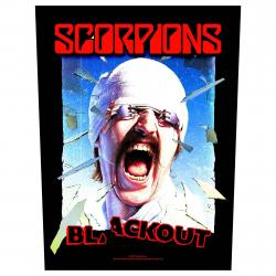 Scorpions Backpatch Blackout