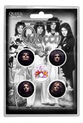 Queen Button Set - Faces