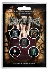 Button Set - Cradle of Filth 'Albums'