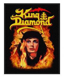 King Diamond Patch Fatal Portrait