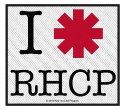 Red Hot Chili Peppers 'I love RHCP' Patch