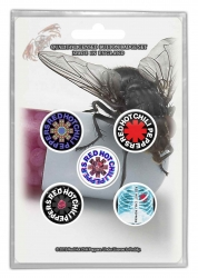Button Set - Red Hot Chilli Peppers 'I'm with you'