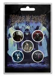 Cradle of Filth Button Set - Cryptoriana
