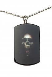 Skull 'n Tongue Acrylic Pendant Necklace