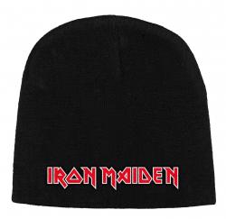 Iron Maiden - Logo Beanie Mütze