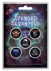 Button Set - Avenged Sevenfold - The Stage