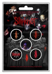 Button Set - Slipknot - We are not your kind