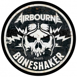 Airbourne Backpatch Boneshaker