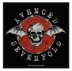 Avenged Sevenfold Patch Distressed Skull
