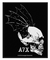 Avenged Sevenfold Patch Skull Profile
