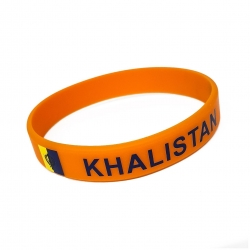 Silikonarmband Khalistan Sikh Republik