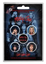 Button Pack - Mötley Crüe - Girls Girls Girls