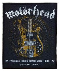 Motörhead Aufnäher Lemmy's Bass