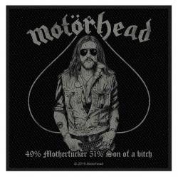 Motörhead Aufnäher 49% Motherfucker