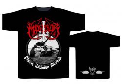 Marduk - Panzer Circular - T-Shirt