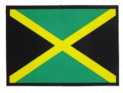 Aufkleber - Fahne Jamaika