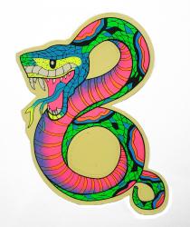 Aufkleber - Schlange - Farbwahl