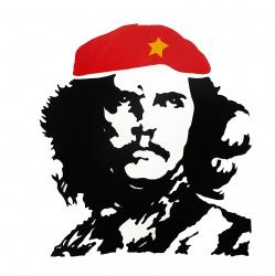 Aufkleber - Che Guevara - Farbwahl