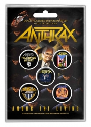 Button Pack - Anthrax - Among the Living