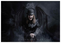 Posterfahne Ozzy Osbourne Ordinary Man
