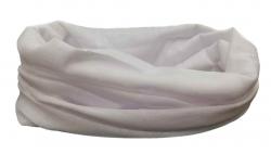 Multifunktionstuch Schlauchtuch Weiß