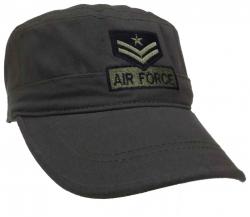 Grey Military Cap - US Airforce