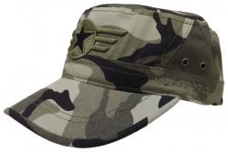 Armee Kappe US Airforce Star Camouflage