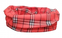 Multifunctional Scarf red checkked