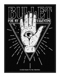 Bullet For My Valentine Aufnäher All seeing eye