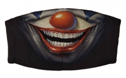 Gesichtsmaske Clown