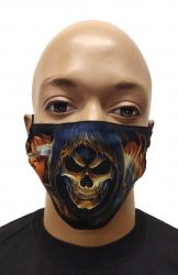 Gesichtsmaske Sensenmann