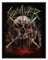 Slayer Aufnäher Skull & Swords