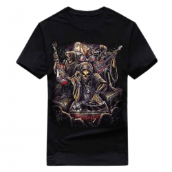 T-Shirt Skull Band (Glow in the Dark)
