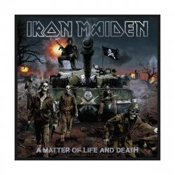 Iron Maiden Aufnäher A matter of life & death