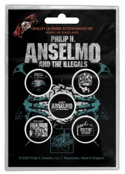 Philip H. Anselmo & the Illegals Button Pack
