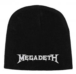 Megadeth - Logo Beanie Mütze
