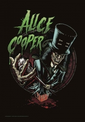 Alice Cooper Posterfahne Alice in Chains