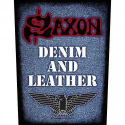 Saxon Denim & Leather Rückenaufnäher