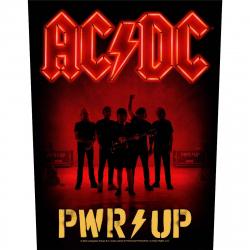 AC/DC PWR UP Band Rückenaufnäher