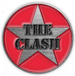 The Clash Military Anstecker