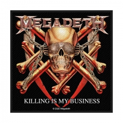 Megadeth Killing Is My Business Aufnäher