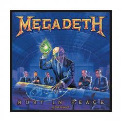 Megadeth Rust In Peace Aufnäher